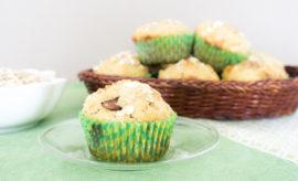 muffins de avena y chocolate en maria orsini