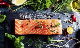 Receta de gravlax de salmón en maria orsini