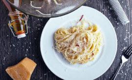receta de spaghetti de ajo y aceite con chile